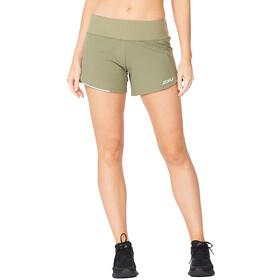 "2XU Aero 4"" Shorts Women, szary"